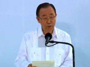 """Ban Ki-Moon: """"Acuerdo en Colombia asegura una paz duradera"""""""