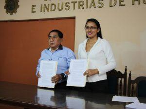 Huánuco: Firman convenio para potenciar el sector empresarial en la región