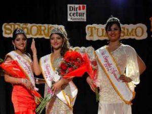 Ayacucho: Eligen a ganadora del concurso Miss Turismo 2016