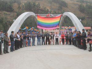 Huánuco: Inauguran puente vehicular en Dos de Mayo