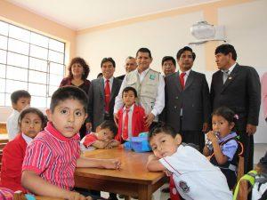 Huánuco: Inauguran institución educativa en distrito de Amarilis