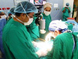 Niños son beneficiados con operaciones de labio leporino en el Vraem