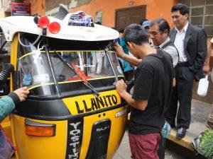 Huánuco: Realizan operativo contra trimóviles y combis piratas