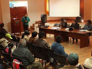 Ayacucho: Promueven plan de igualdad de género en Vilcas Huamán