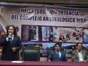 Ayacucho: Realizan conversatorio sobre hallazgos del Complejo Arqueológico Wari