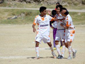 La Sub 16 de Ayacucho F.C. venció a Vegas F.C. por 1 – 0