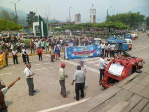 Tingo María: Mototaxistas se oponen a la revisión técnica