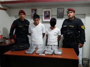 Tingo María: Policía decomisa 8 kilos de marihuana