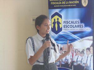Madre de Dios: Fiscales Escolares participarán en Concurso Nacional de Oratoria, Canto y Reciclaje
