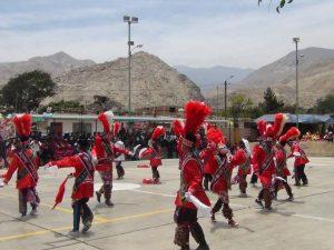 I Festival Escolar de Danzas Folclóricas se desarrollo con éxito en Valle Fortaleza