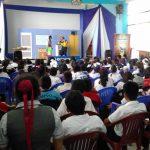 Vraem: Informan a escolares sobre prevención de accidentes con balones de gas
