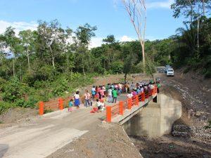 Huanta: Inauguran mantenimiento de camino vecinal de conexión al Vraem