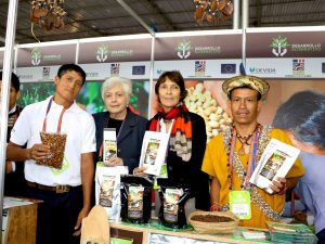 Satipo: Productos de café y cacao destacaron en Expoalimentaria 2016
