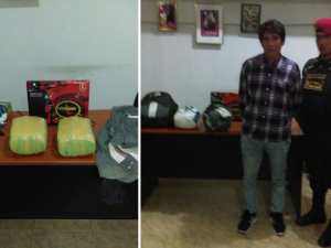Huánuco: Detienen a joven con cuatro kilos de marihuana