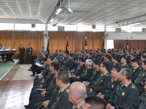Se inauguró taller de actualización en seguridad ciudadana para comisarios