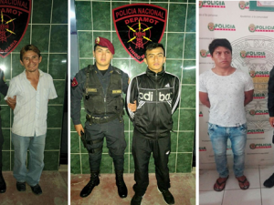 Huánuco: Tres requisitoriados son capturados por la Policía