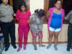 Tingo María: Detienen a tres mujeres por Trata de Personas