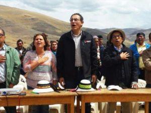 Apurímac: Ministro Vizcarra dialogó con comuneros de Cotabambas