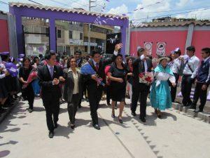 Ayacucho: Inauguran tres obras de construcción en dos Instituciones Educativas en Jesús Nazareno