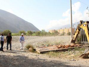 Se aperturó vía alterna Huancachupa-Puente Huallaga