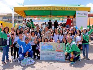 Cusco: Jóvenes rechazan consumo de drogas con coreografías artísticas