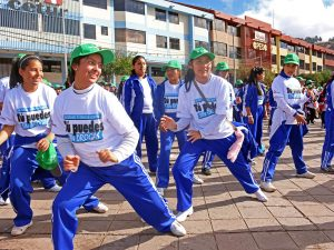 """Cusco: Organizan el I Encuentro Escolar """"Wanchaq Baila Sin Drogas"""""""