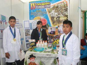 Alumnos huanuqueños participaron en Eureka 2016