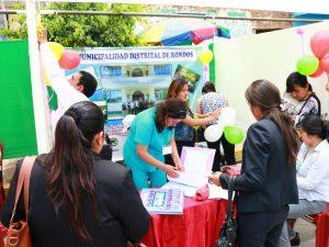 Se inició el XI encuentro de Municipios Saludables en Amarilis