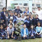 Niños de Barranco siembran árboles por la Semana Forestal Nacional