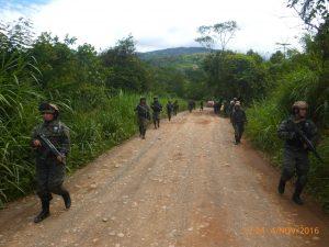 Vraem: Se destruyó una poza de maceración de hoja de coca