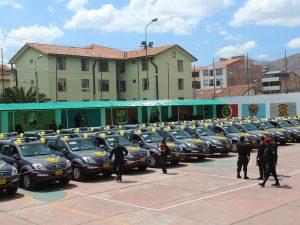 Cusco: Se entregaron 30 patrulleros a la región policial