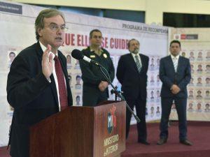 Mininter realizó 30 mega operativos contra la inseguridad ciudadana