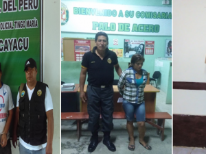 Huánuco: Intervinieron a seis requisitoriados