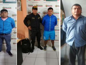Tingo María: Policía intervino a cinco requisitoriados