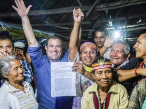 Ministro Giuffra: Firma de acuerdos finales en Saramurillo es un hito histórico