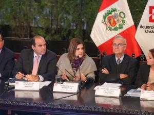 Zavala destacó saldo positivo de reunión del Acuerdo Nacional