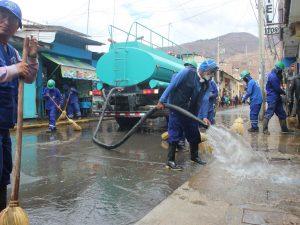 Huánuco: Se realizó megaoperativo en el Mercado Central