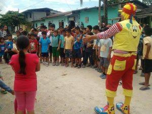 Monzón: Niños de centro poblado local festejaron la navidad