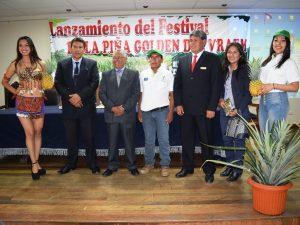 """Realizan lanzamiento del """"Festival de la Piña Golden del Vraem"""""""