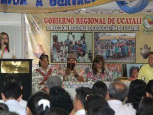 Ucayali: Minedu presentó plan de educación bilingüe