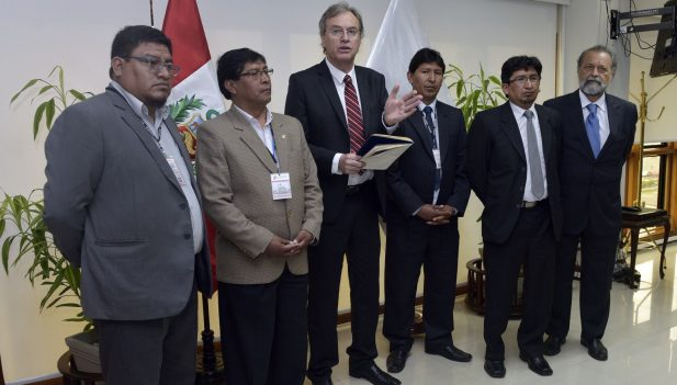 Autoridades de puno y el mininter fortalecen seguridad for Ministro del interior 2016