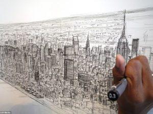 Se inauguró muestra de dibujo y pintura de jóvenes con autismo