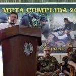 Perú supero meta en erradicación de hoja de coca para 2016
