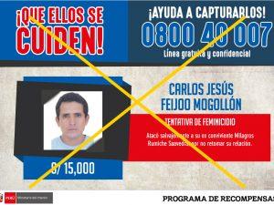 Tumbes: Capturaron a Carlos Feijoo, agresor de Milagros Rumiche