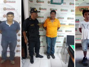 Tingo María: PNP interviene a siete requisitoriados