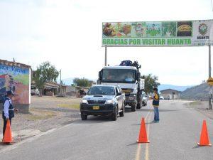 Ayacucho: Sancionan a más dos mil vehículos de transporte interprovincial