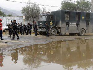 Basombrío: 400 policías dan seguridad en zona afectada por huaicos