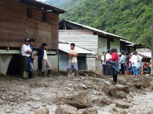Chanchamayo: Cinco viviendas dañadas por lluvias