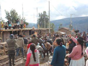 Ayacucho: Localidad de Tambopuquio cuenta con casa comunal