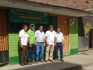Instalan oficinas del Provraem en Ayacucho y Junín